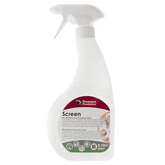 Screen kraftig desinfeksjonsmiddel spray