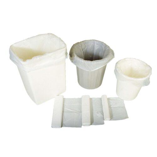 Avfallspose hvit