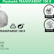Plastsekk-trans-100L