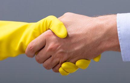 Expertvask formidler jobboppdrag videre til medlemmene