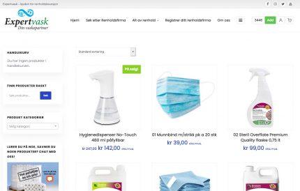 Medlemsbutikk med kanskje bransjens beste priser på renholdsprodukter